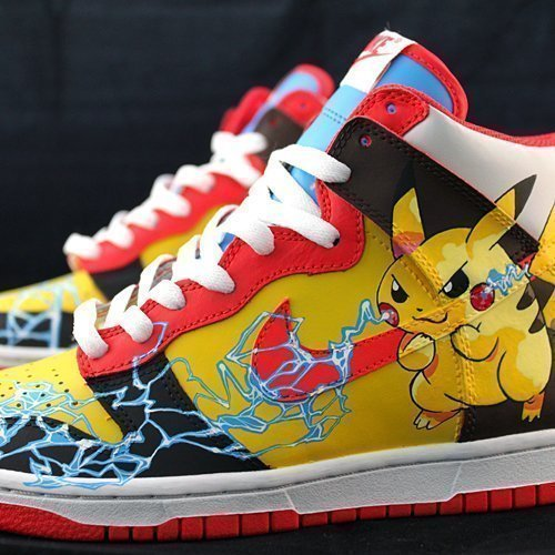 Pikachu Custom Sneakers