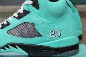 Jordan V Tiffany Custom Kicks