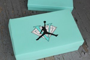 Jordan V Tiffany Custom Box
