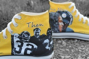 Steelers Custom Kicks Chucks