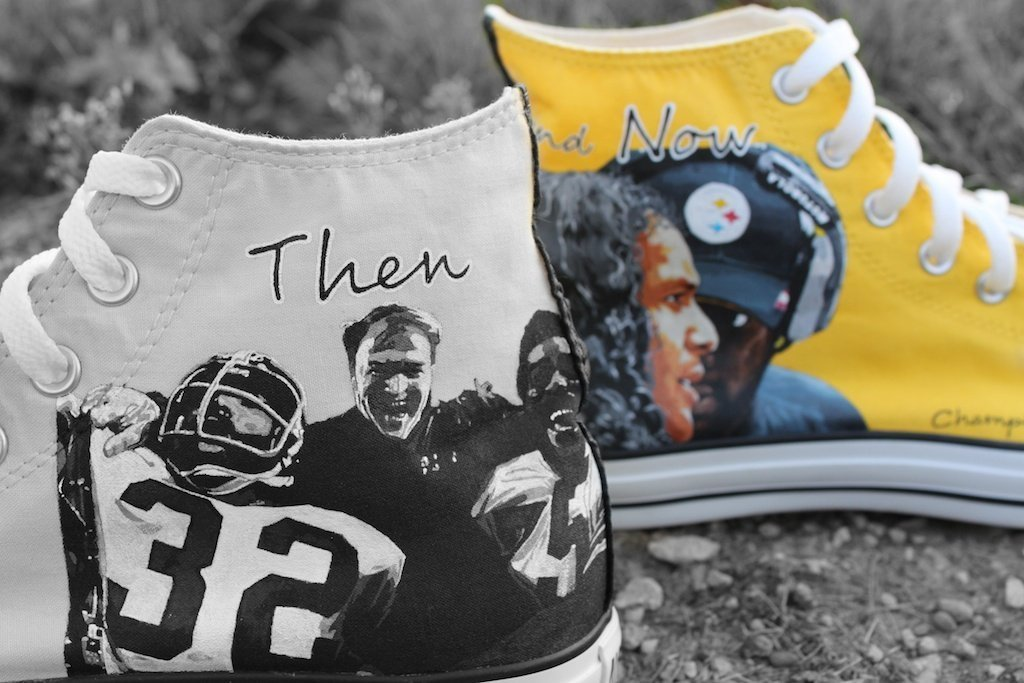 Pittsburgh Steelers Custom Kicks – Chuck Taylors