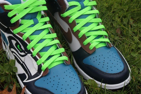 Seattle Seahawks Nike Dunk