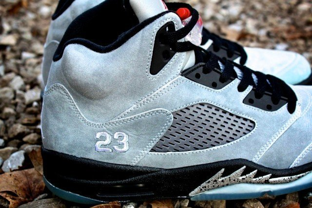 Real Metallic Jordan V's Proof Culture