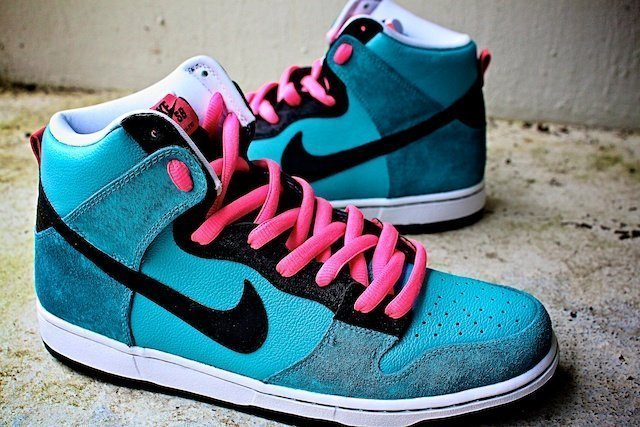 South Beach Nike Dunks 3