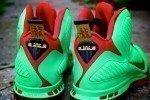 Year of the Dragon Lebron Custom Shoes 1