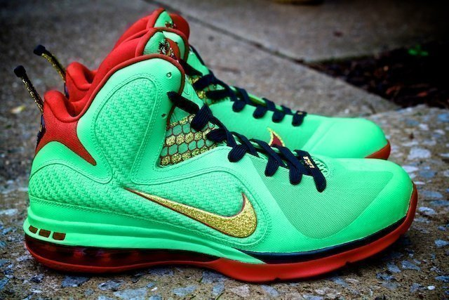 Year of the Dragon Lebron Custom Shoes - YOTD