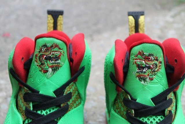 Year of the Dragon Lebron Custom Shoes 4