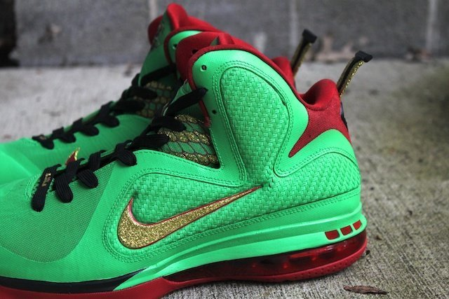 Year of the Dragon Lebron Custom Shoes 5