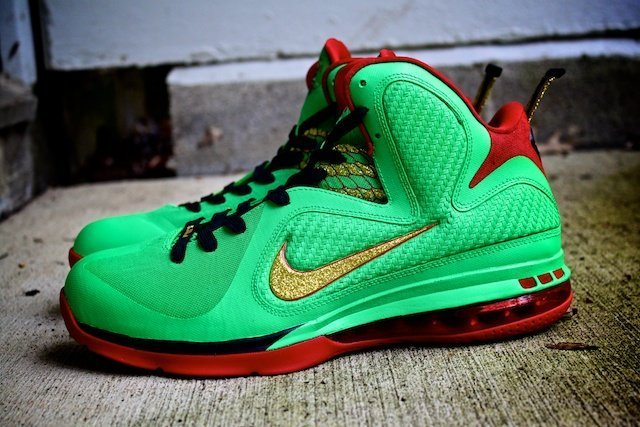 Year of the Dragon Lebron Custom Shoes 6