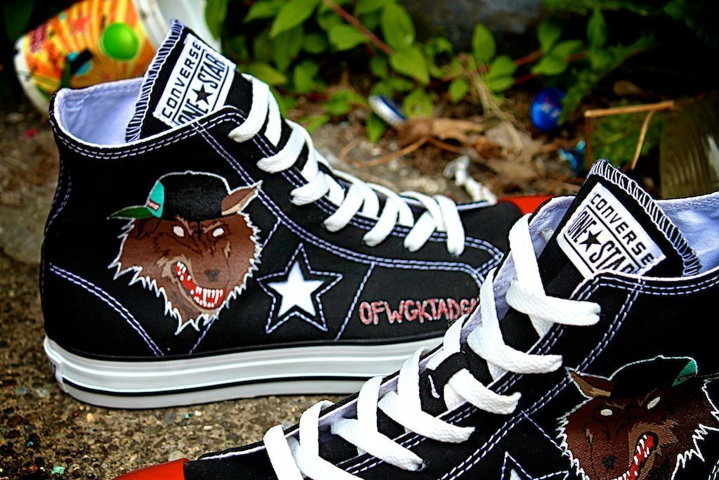 Odd Future OFWGKTADGAF Custom Shoes – Converse