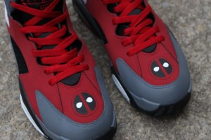 Deadpool custom shoes