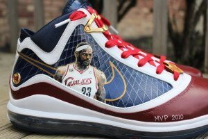 Cleveland Cavaliers Lebron James Custom Sneakers