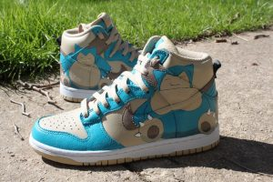 Snorlax Custom Sneakers