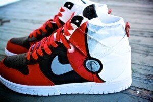 Pokemon Pokeball Nike Dunk Custom Shoes