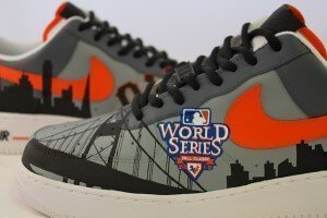 San Francisco Giants Nike AF1 Custom Sneakers