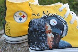 Pittsburgh Steelers Converse Chuck Taylor Custom Sneakers