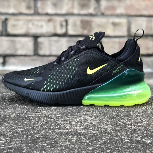 best sneakers 3a77c 2556b Air Max 270 Black Volt Oil Grey