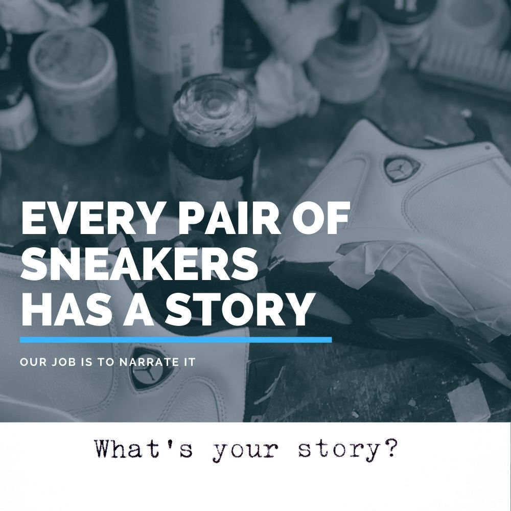 what's your sneaker story mobile